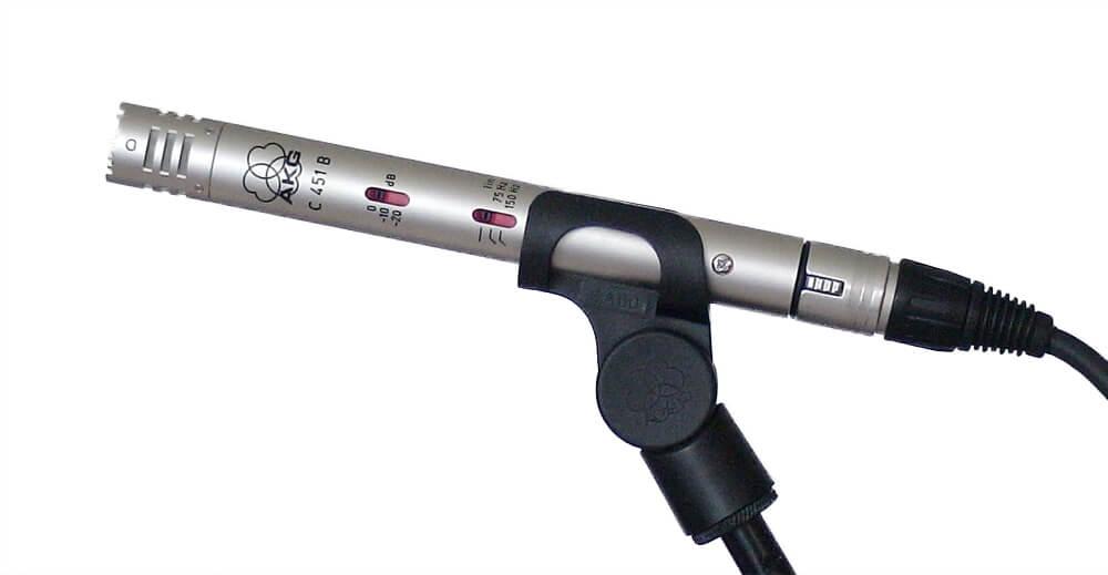 Wat is een condensator microfoon